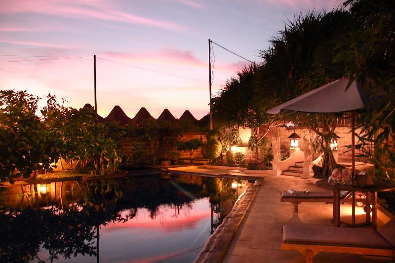 Villa Vip Share Pool  Evening - Villa Vip Bali - Bali - rentals