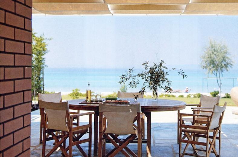 sea view from the living room - SEASIDE SUMMER VILLA - Pefkohori - rentals