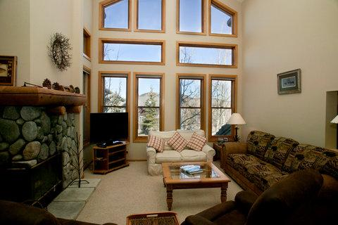 Snowcreek Spacious Condo with Full View of Mammoth Mountain ~ RA545 - Image 1 - Mammoth Lakes - rentals