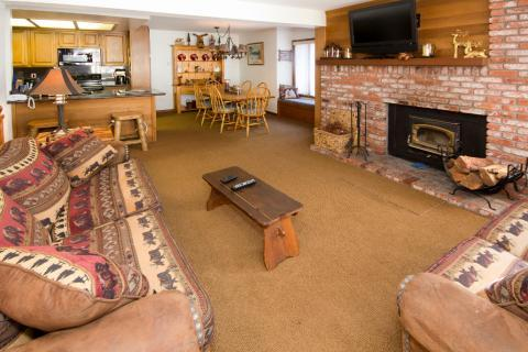 Sierra Megeve Condo with Best Location in Mammoth ~ RA554 - Image 1 - Mammoth Lakes - rentals