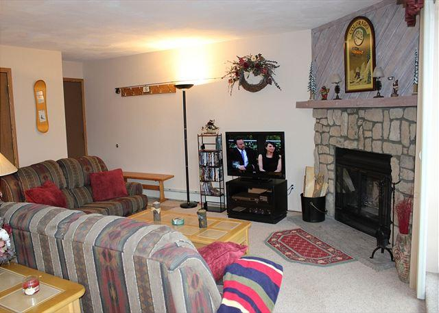 BR207A Choice Condo w/Great Views, Wifi, Fireplace, Clubhouse & Carport - Image 1 - Silverthorne - rentals