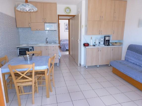 cuisine salon - Appartement la Belledonne a Vaujany 4/6 pers - Vaujany - rentals