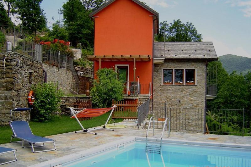 Lago Maggiore villa with swimming-pool - Image 1 - San Bernardino Verbano - rentals