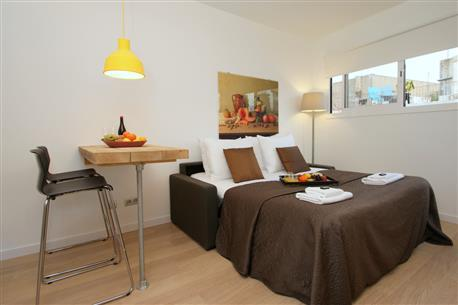 Ramblas Deluxe Studio A - Image 1 - Barcelona - rentals