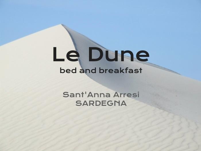 B&B Le Dune -sand dunes - Image 1 - Sant'Anna Arresi - rentals