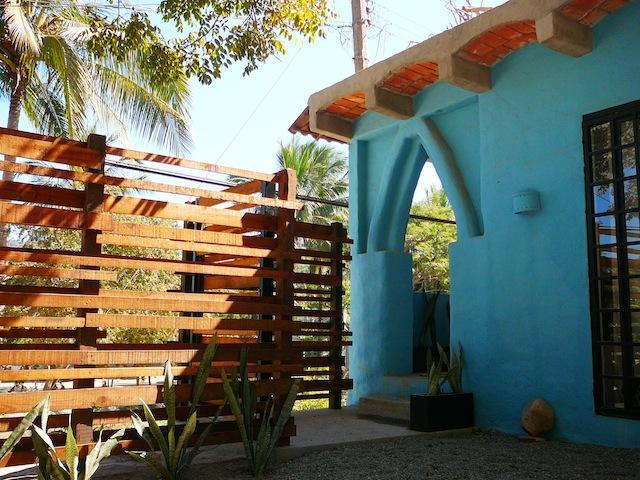 ENTRANCE - CASA AZUL. One Block To Beach. At The River Side - Sayulita - rentals