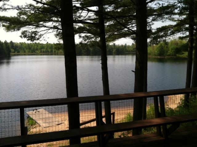 are you ready to relax on our deck - Adirondack Retreat on secluded lake - Glenfield - rentals