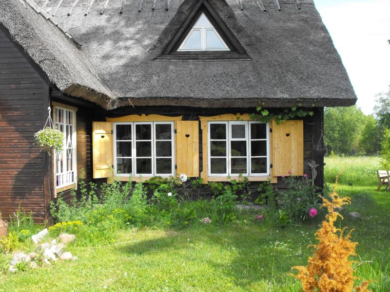 The windows of the living-room - Apartment in an old farmhouse - Saaremaa - rentals