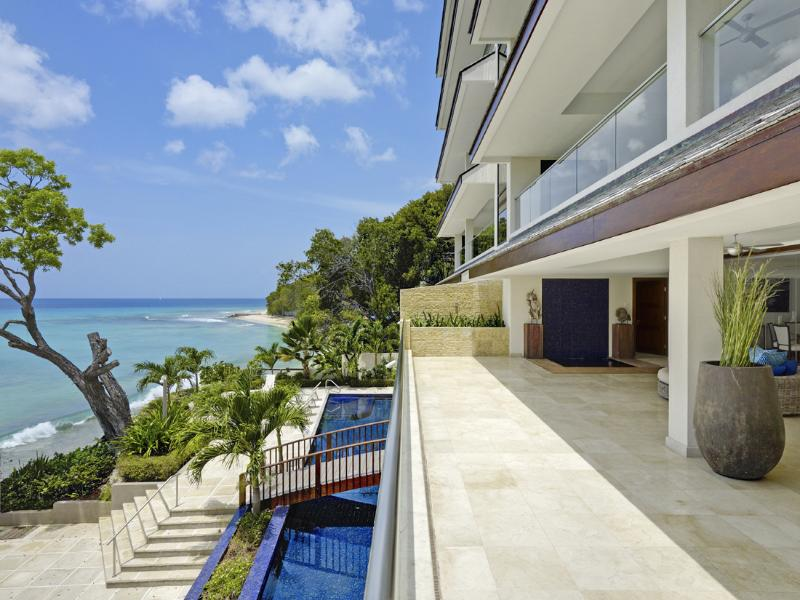 Portico 1 at Prospect Beach, Barbados - Beachfront, Pool, Gym And Sauna - Image 1 - Prospect - rentals