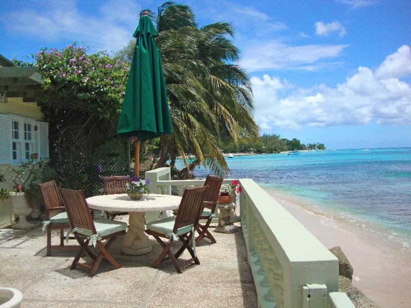 Turtle Reef at Mullins, Barbados - Beachfront, Reef Directly In Front Of House Where Turtles Are Often Seen - Image 1 - Lower Carlton Beach - rentals