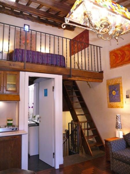 Apartment Romantica holiday vacation apartment rental italy, rome, trastevere - Image 1 - Rome - rentals