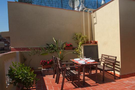 University Attic  *** Cocoon Terrace (BARCELONA) - Image 1 - Barcelona - rentals
