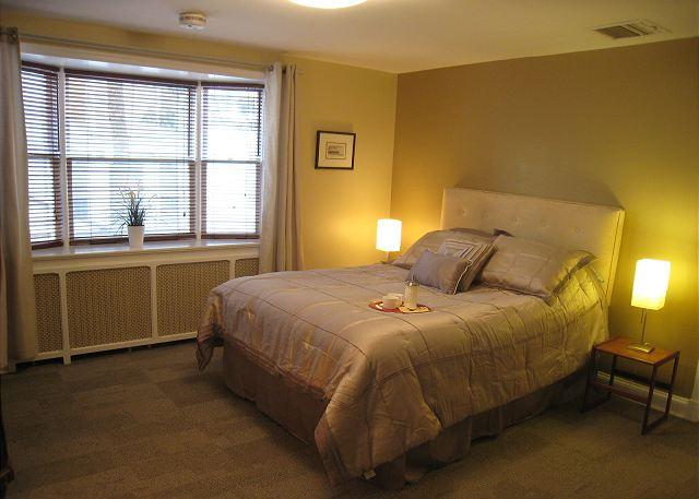 Queen bed - Large studio apt in great DC neighborhood; Bus to Downtown & The Mall - Washington DC - rentals