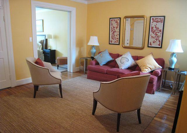 Large 1BR in DuPont Circle; two-block walk to Metro; Patio - Image 1 - Washington DC - rentals