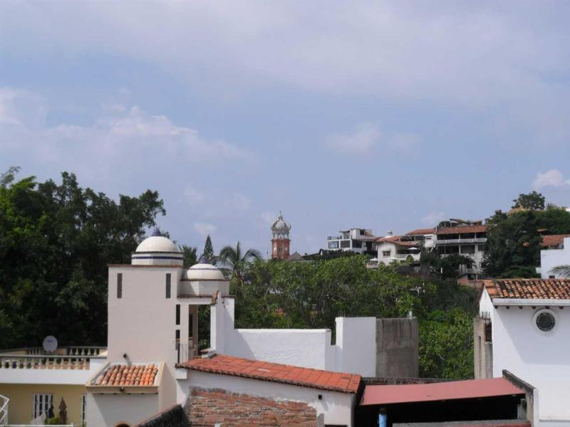 Downtown View from Terrace - Panoramic View 2 Bedroom Apartment - Puerto Vallarta - rentals