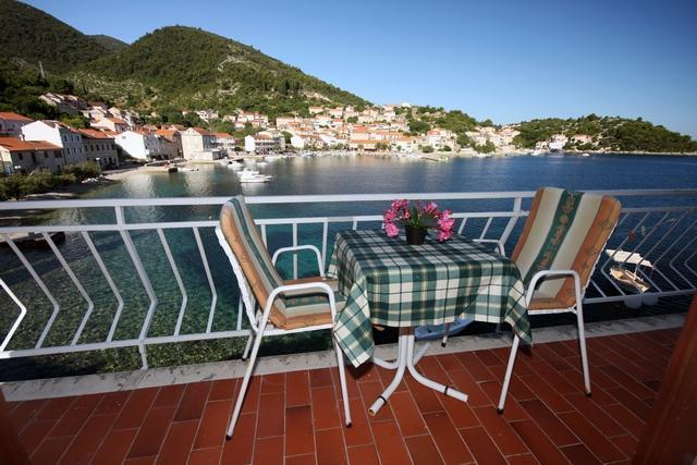 balcony view - Villa Gorana Studio Apartment 2+1 - Korcula - rentals