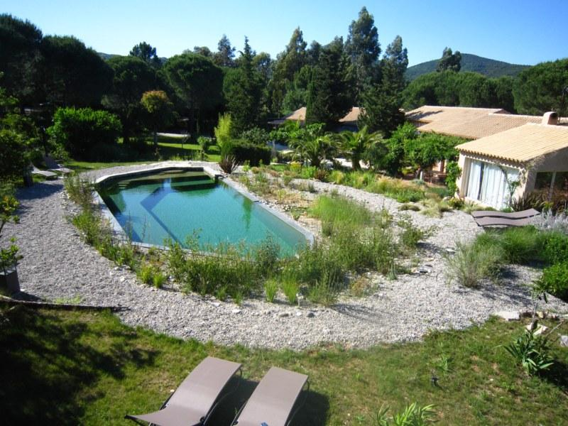 Ecological pool (13x6) - Apartment Standard 3* for 2 in a villa at Grimaud - Grimaud - rentals