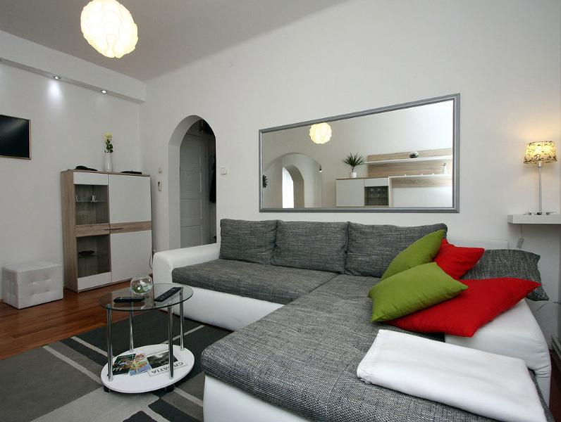 Living room - Two bedroom apartment in the centre of the city - Zagreb - rentals