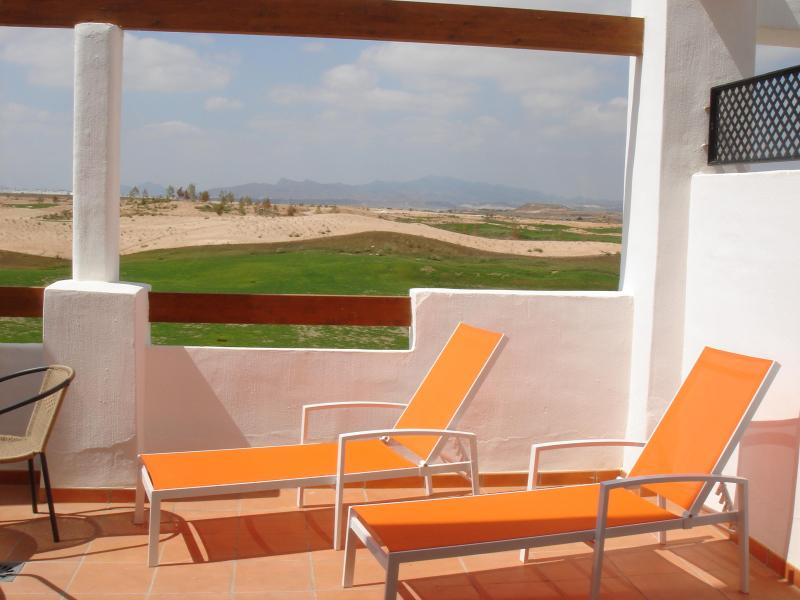 Balcony Over looking 12th hole - Condado de Alhama - Alhama de Murcia - rentals