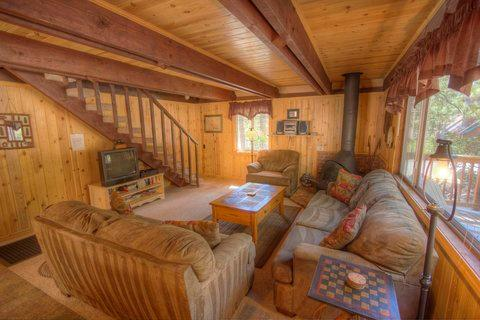 Delightful Well Maintained North Lake Cabin ~ RA801 - Image 1 - Incline Village - rentals