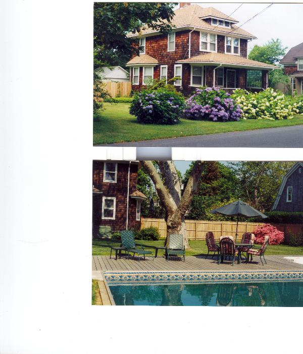 house on 37 Osborne ave. & pool - August Rental in the Hamptons - Southampton - rentals