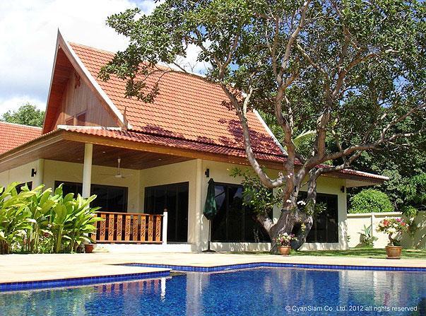 VILLA SILK - 3 bed pool villa nr Nai Harn Beach - Image 1 - Nai Harn - rentals