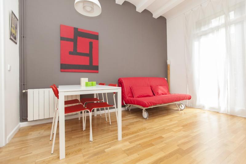 LIVING ROOM - UNIVERSITAT NOUVEAU - Barcelona - rentals