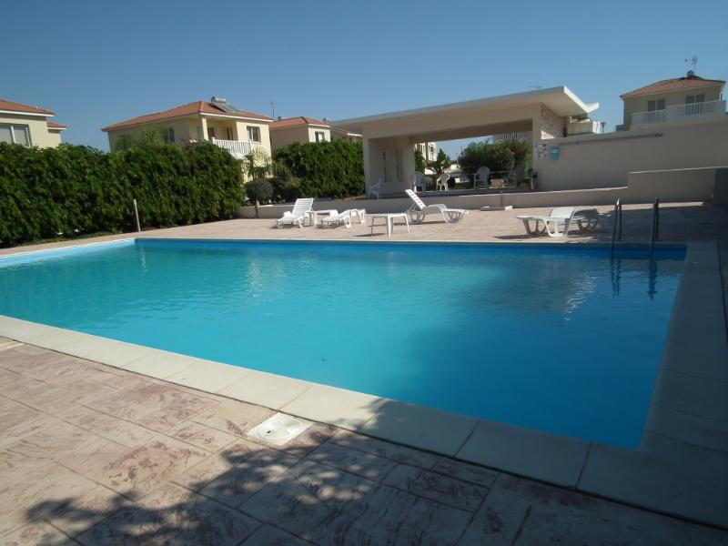 Communal pool - Near the beach villa at Faros beach- communal pool - Pervolia - rentals