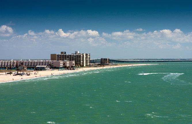 Beautiful Corpus Christi North Beach - #1 View of Water, Beach,  Harbor Bridge in Corpus - Corpus Christi - rentals