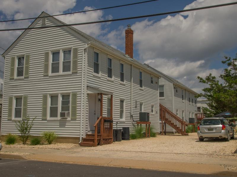 Rental unit is the first floor apartment in the front building - Seaside Park 2 bedroom apartment - Seaside Park - rentals