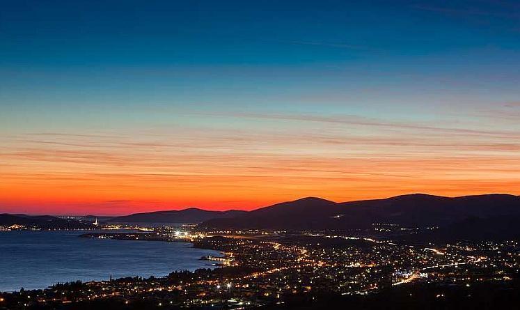 Sunset in Kastela - Apartments Dalmatino - Kastel Stafilic - rentals