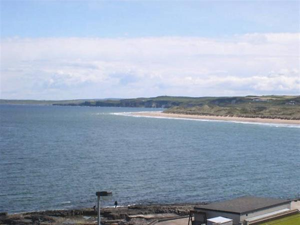 view from balcony - Portrush luxury apartment, with amazing sea views. - Portrush - rentals