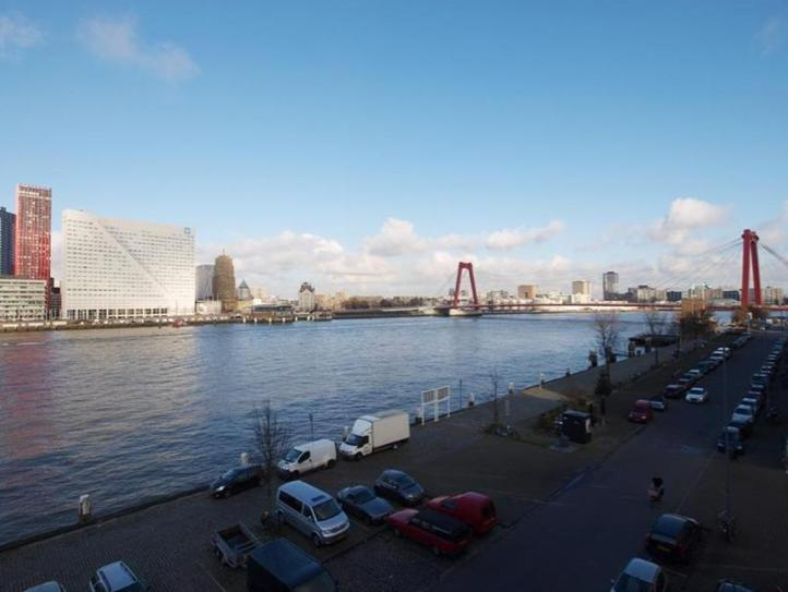 View from the front windows - Amazing views, beautiful, spacious - Rotterdam - rentals