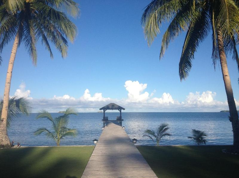 View to Pacific Ocean - Siargao Paraiso Resort , The Philippines - General Luna - rentals