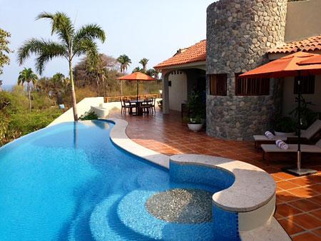 Casa las Piedras - Pool Terrace - Casa las Piedras - Ocean view! - San Pancho - San Pancho - rentals