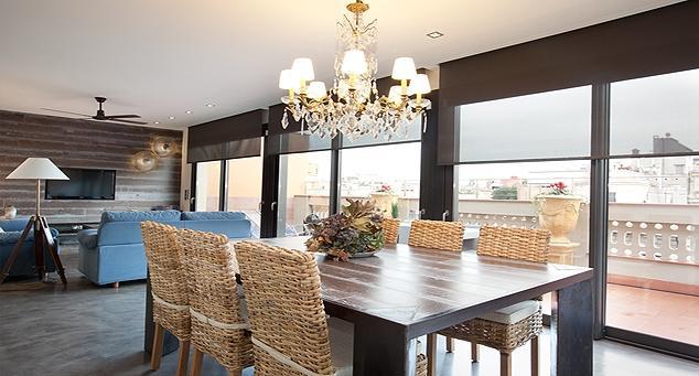 Living Room - Gaudir Luxury Penthouse - Barcelona - rentals