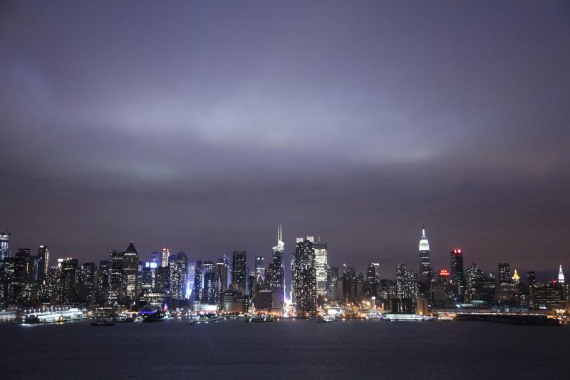 View of NYC skyline from Blvd East by King Avenue - NEW YORK CITY,  ONE MILE &  MINUTES AWAY - Weehawken - rentals