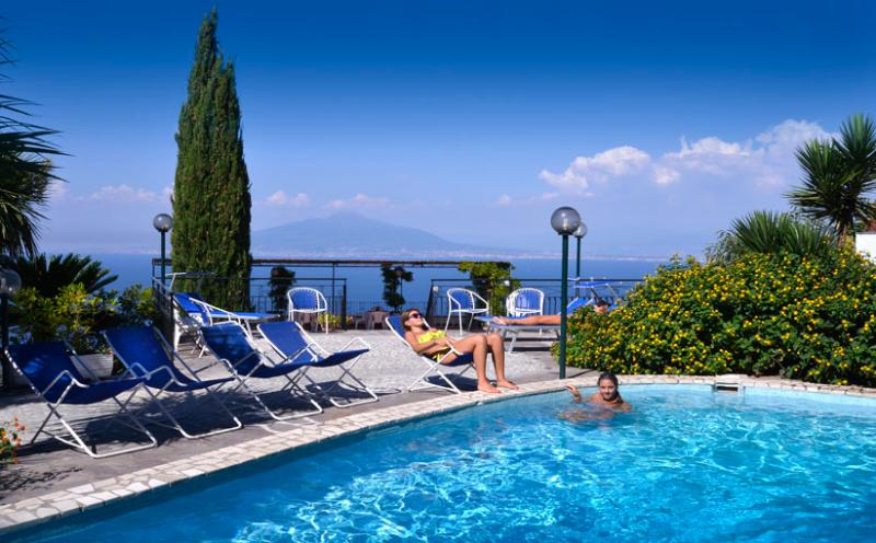 Villa Bianca - Pool - VILLA BIANCA - Priora - Sorrento - Sorrento Coast - Sorrento - rentals