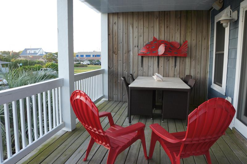 Front Deck - Worth the Wave - Kure Beach NC - Kure Beach - rentals