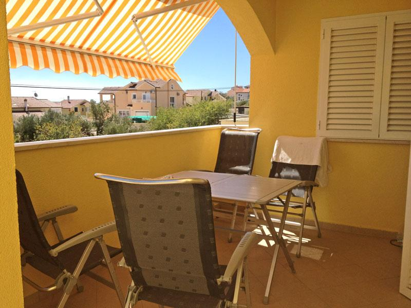 Terrace - FOR SALE! 2BD Apartment with seaside view - Vodice - rentals