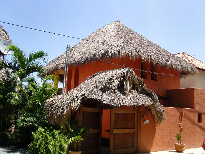 Entrance - Beatiful house, with the Pacific ocean view - Zihuatanejo - rentals