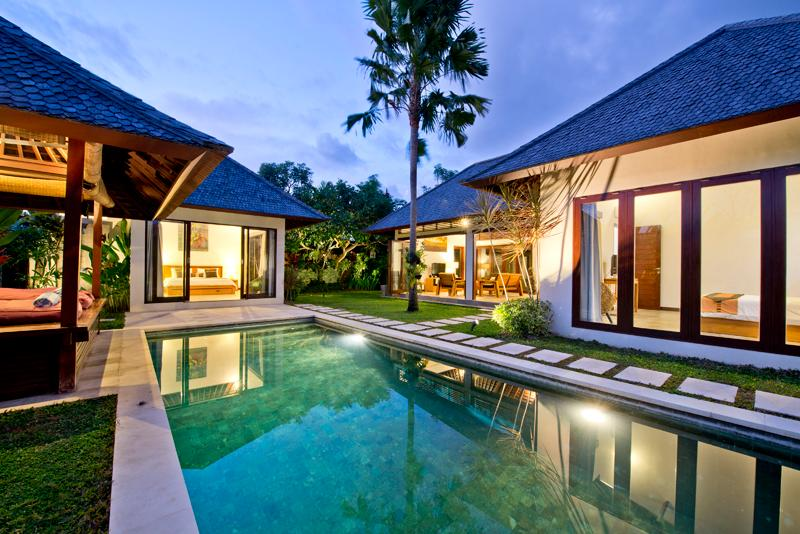 From Entrance - Villa Iris 2 br w/ private pool-Seminyak Lux Villa - Seminyak - rentals