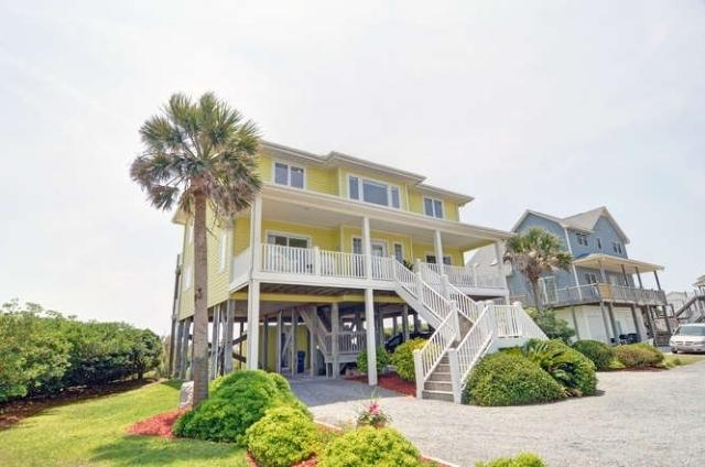 Street Side - New River Inlet Rd 1048 -4BR_SFH_OF_12 - North Topsail Beach - rentals