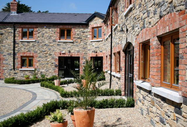 Main Courtyard - Decoy Country Cottages - The Forge - Northern Ireland - rentals