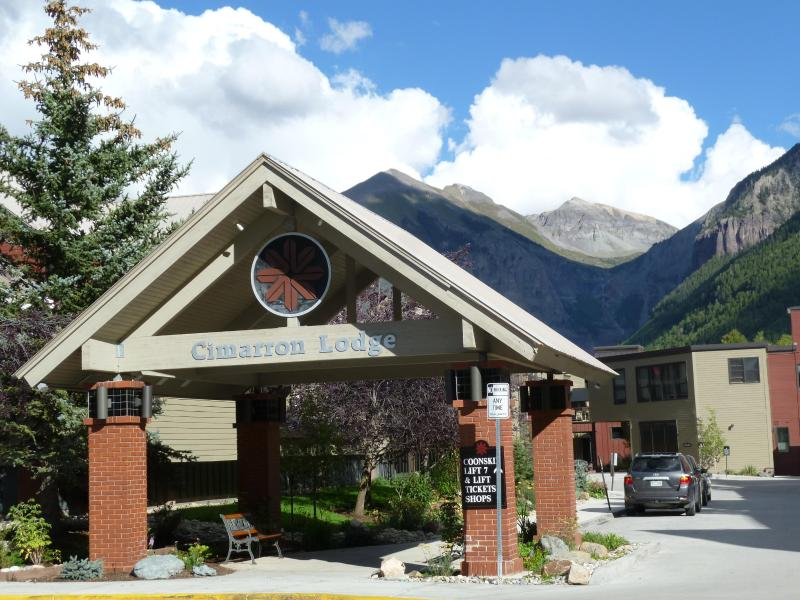 Gateway to the Cimarron Lodge, home to Chairlift 7, Lift Ticket Office, Ski Shop & Rentals, etc. - Ski IN-Ski OUT's BEST VALUE, 7th night FREE, 2 BR, - Telluride - rentals