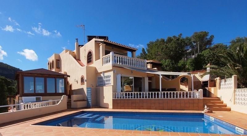 7 bedroom Villa in Cali Moli, San Jose, Ibiza : ref 2091375 - Image 1 - Cala Tarida - rentals