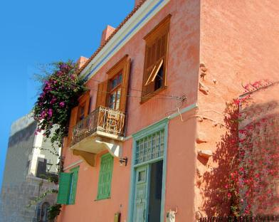 Exterior of the house - Neoclassic Apartement  Ermoupolis Syros GREECE CYCLADES - Hermoupolis - rentals