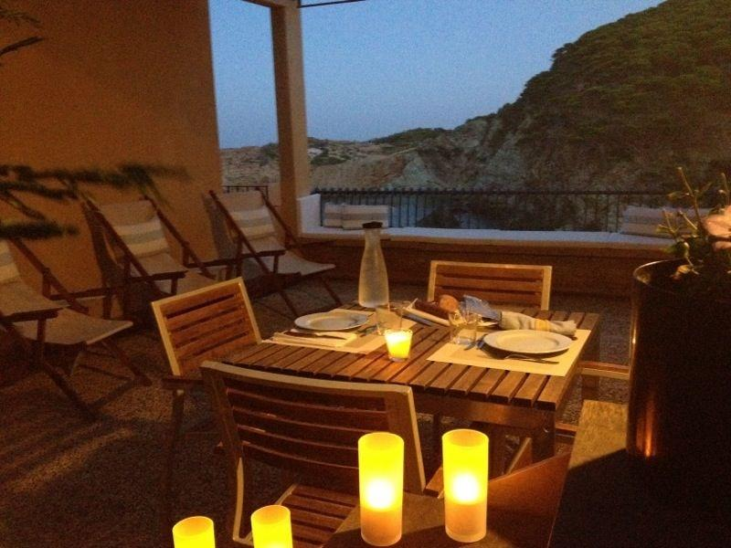 terrace - House At Sa Tuna Beach (Begur) With A Spectacular Sea View - Begur - rentals