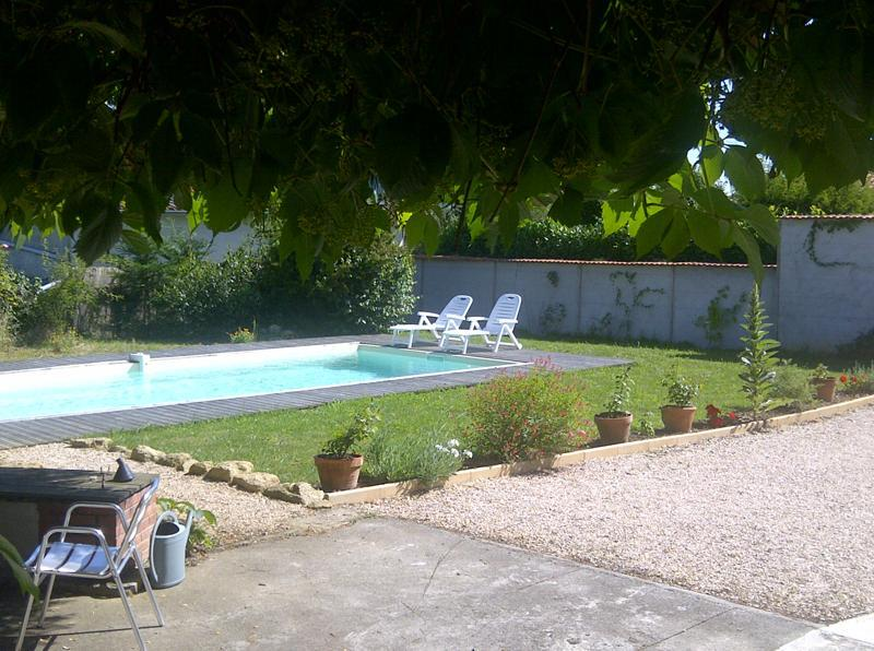 Pool and Garden - Village house with pool - Boulogne sur Gesse - rentals