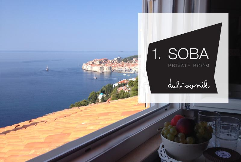 enjoy at bar table at absolute privacy - 1. SOBA private, comfy, ensuite & tranquil room - Dubrovnik - rentals